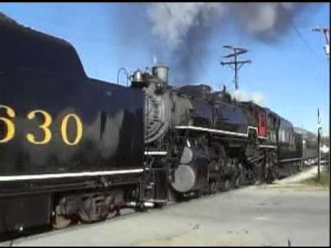 Chattanooga Choo Choo trainchase Tennessee Valley  doublehead steamtrain excursion from Chattanooga,