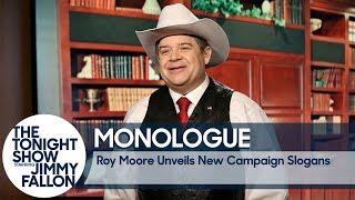 failzoom.com - Roy Moore Unveils New Campaign Slogans - Monologue