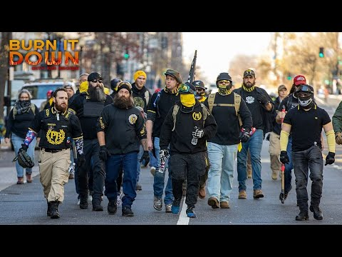 Proud Boys run wild while police stand by (again)