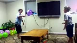 Ninja Balloon Ball With Grant D, John B, And Nash