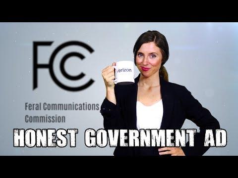 Honest FCC Advert: Net Neutrality