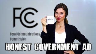Honest Government Ad - Net Neutrality