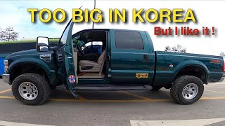 I went to see (or buy) an AMERICAN PICKUP TRUCK in Korea. Too Big in Korea ?