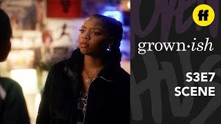 grown-ish Season 3, Episode 7 | Jazz And Sky Argue About Jazz's Dedication To Track | Freeform