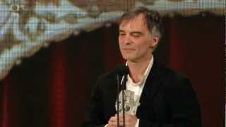 Ivan Trojan na předávání cen Český lev za rok 2012