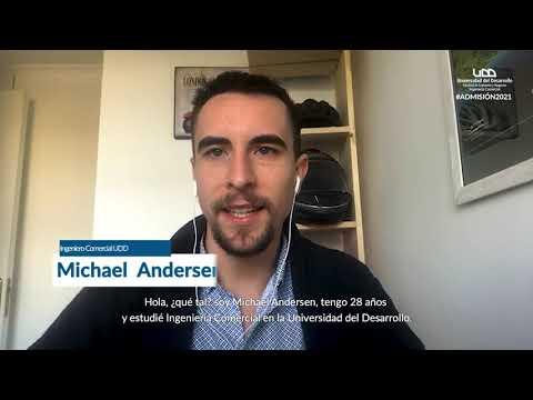 Michael Andersen   Vinculación con la Empresa #ComercialUDD