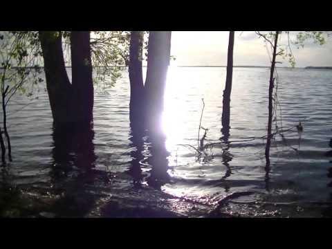 ASMR Calming Beach Sounds at Sunset