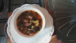 суп из морской капусты/меги тямури