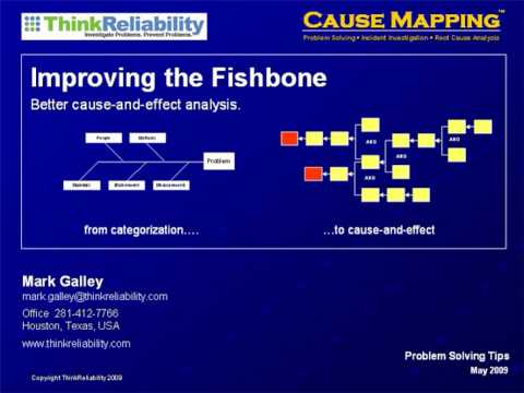 Improving The Fishbone Diagram - Better Cause-and-Effect Analysis