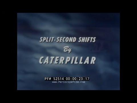 CATERPILLAR TRACTOR D8 BULLDOZER  POWERSHIFT TRANSMISSION PROMOTIONAL FILM 52514