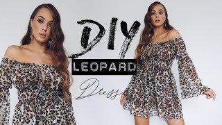 Download Video DIY leopard DRESS | Tijana Arsenijevic MP3 3GP MP4