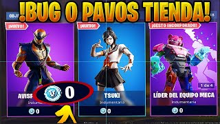 *TIP* 0 PAVOS IN THE STORE ALL *FREE* IN FORTNITE BATTLE ROYALE*! GET SKINS FOR FREE!