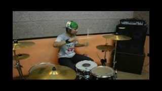 Tutus Thomson - Ore Ska Band - Hana No Ska Dance [FULL Drum Cover]