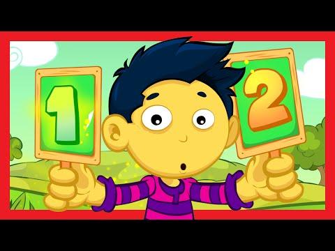 'ONE TWO BUCKLE MY SHOE' Nursery Rhyme 1-10
