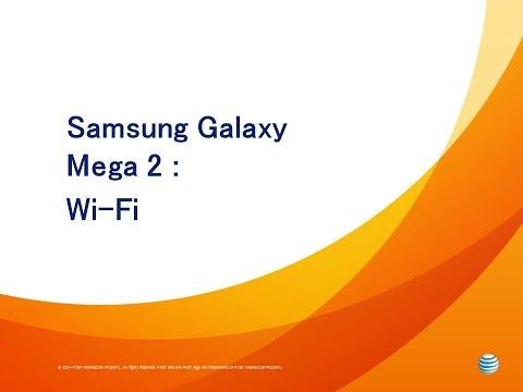 Samsung Galaxy Mega 2 : Wi-Fi
