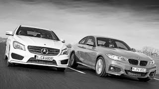 2016 Mercedes CLA 250 Vs BMW 2 Series 228i REVIEW & COMPARISON