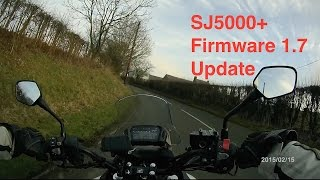 SJ5000+ Action Cam Review Addendum using Firmware 1 7