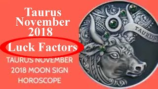 Taurus Vrishabh Rashi November 2018 Horoscope | Lucky Numbers, Colo...