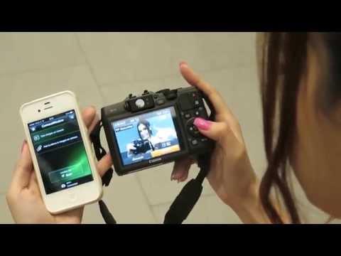 ต่อเชื่อม WiFi กล้อง PowerShot G16 กับ SmartPhone