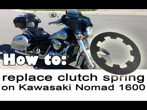 Replacing Clutch Spring on Kawasaki Nomad 1600
