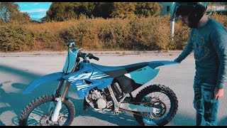 ON HOMOLOGUE MA NOUVELLE 125 YZ feat TCQR