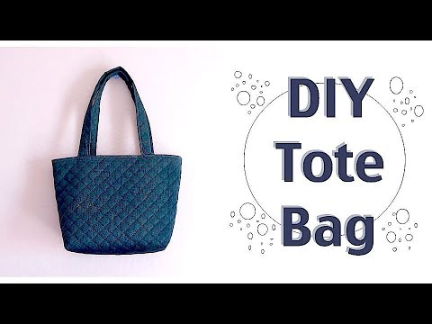 diy tote bag tutorial easy sewing projects costuraㅣmadebyaya