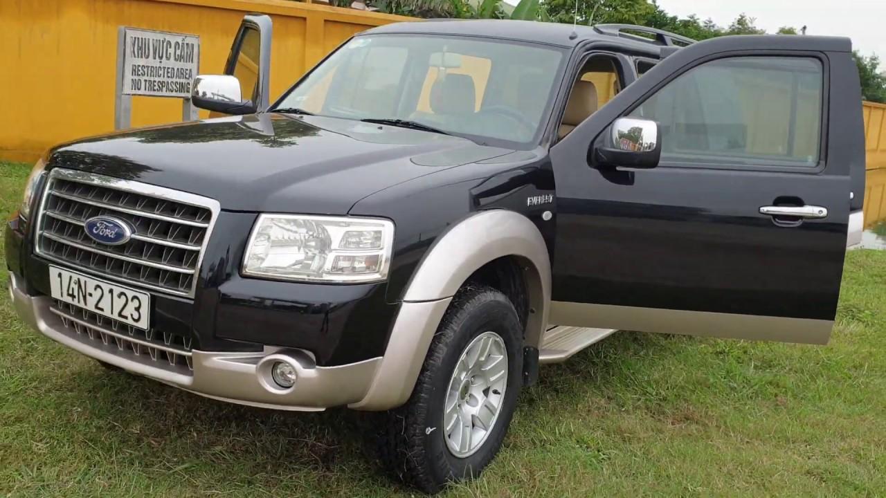 Ford Everest 2008, số sàn, máy dầu cực kinh tế. Ô tô cũ giá rẻ, xe cũ chất lượng