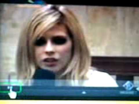 Avril Lavigne Festival Bar 2007 Italian Interview