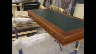 письменный стол из натурального дерева(Письменный стол из натурального дереваг. Москва Тел:8(925)740-86-20 www.галерея-декор.рф http://www.facebook.com/gallery.dekor http://vk...., 2012-12-17T11:06:29.000Z)