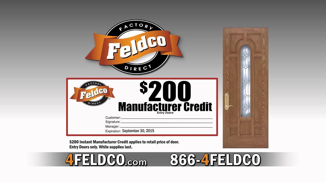 25 Off Doors Feldco Commercial Youtube