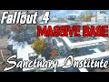 HUGE INSTITUTE BASE - Institute of Sanctuary Hills   Fallout 4 [Settlements with Mods]