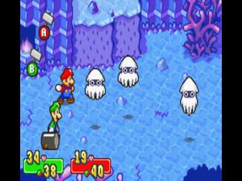Mario & Luigi SuperStar Saga Part 13 - The Seabed Of Oho Oasis