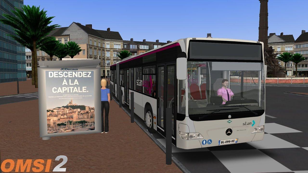 Download OMSI 2 #162: Marseille 2018   Ligne 19   MB Citaro G FL
