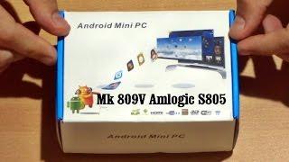 mk809V Amlogic S805: обзор и подключение СмартTV