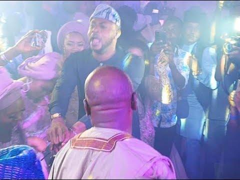 Odunlade Adekola storms in With Shaku Shaku Dance,Got people Laughing at Abimbola& Okiki Wedding