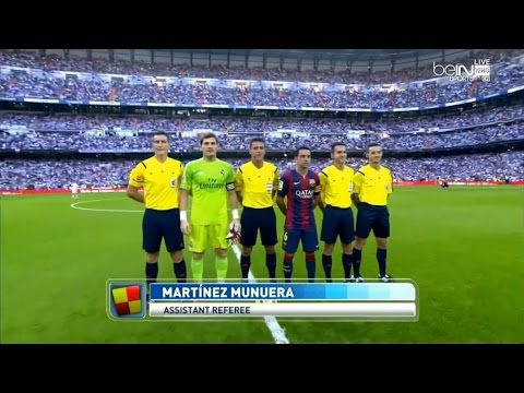 La Liga 25 10 2014 Real Madrid vs Barcelona - HD - Full Match - 1ST - English Commentary 1