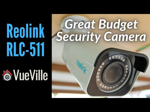 A Budget-friendly 5MP PoE Outdoor IP Camera - Reolink RLC-511 Review