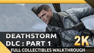 Sniper Elite 4 (PC) - Deathstorm 1: Inception - All Collectibles/Optional Objectives (1440p)