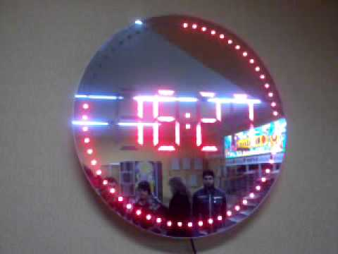 Led Wall Clock Youtube