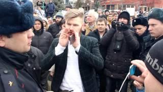 26 марта. Самара. Митинг сторонников Навального в сквере Пушкина