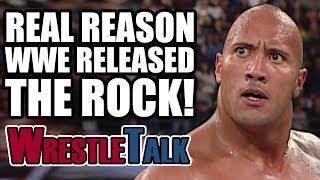 Real Reason WWE RELEASED The Rock Dwayne Johnson In 2005!