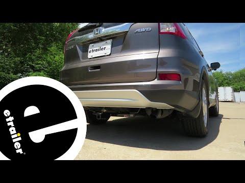 Etrailer   Trailer Hitch Installation - 2016 Honda CR-V - Curt