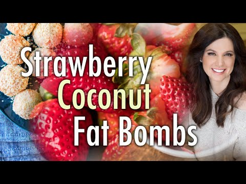 strawberry-coconut-fat-bombs