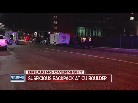 Bomb squad responds to CU Boulder