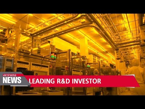 Samsung Electronics ranks in global top 5 R&D investment companies
