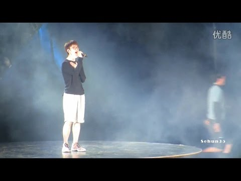 140613 EXO TLP in Wuhan D.O. solo Rehearsal