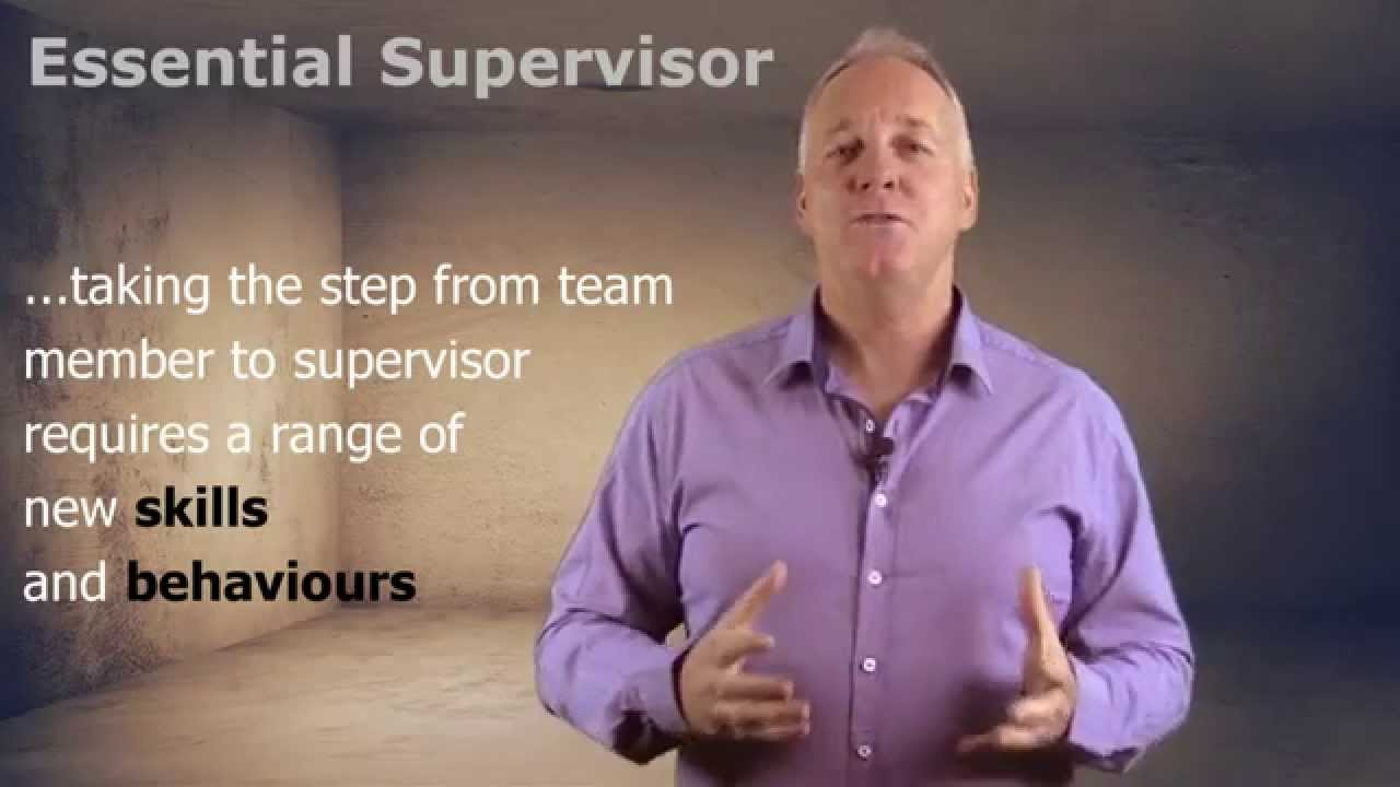 how to be an effective supervisor how to be an effective supervisor