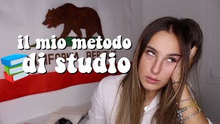IL MIO METODO DI STUDIO #BackToSchool | sdr