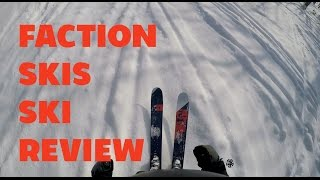 Faction Skis Candide 4.0 and Chapter 116 Review at Demo Day at Hanazono Niseko - Ski Review