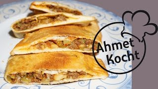 Rezept: Taschen mit Hackfleisch | AhmetKocht | türkisch kochen | Folge 179